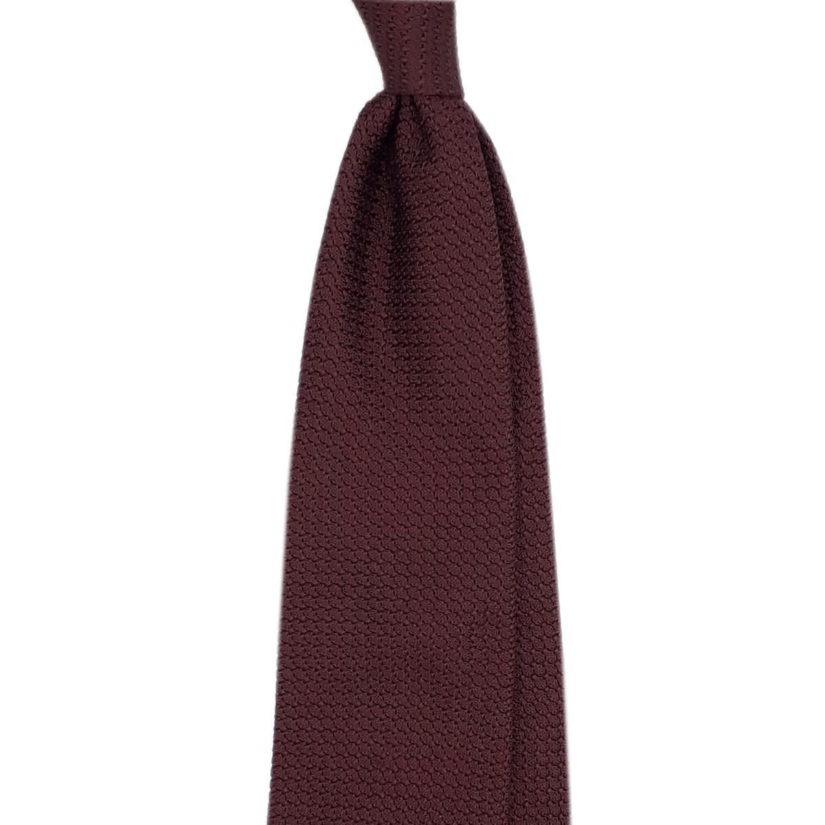 Cravatta Burgundy garza grossa