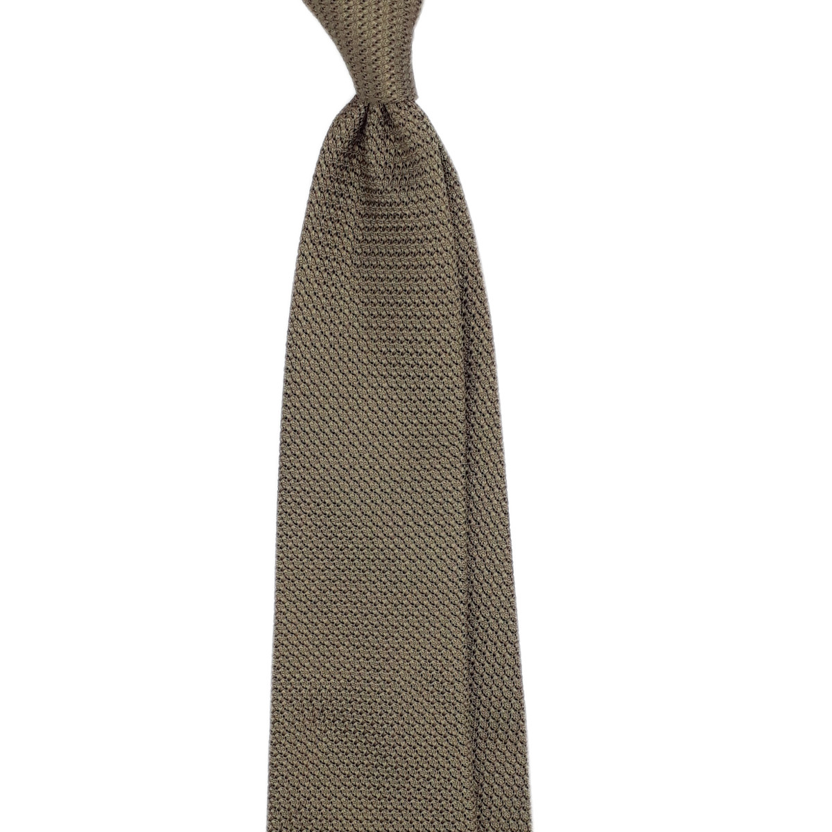 Cravatta khaki garza grossa