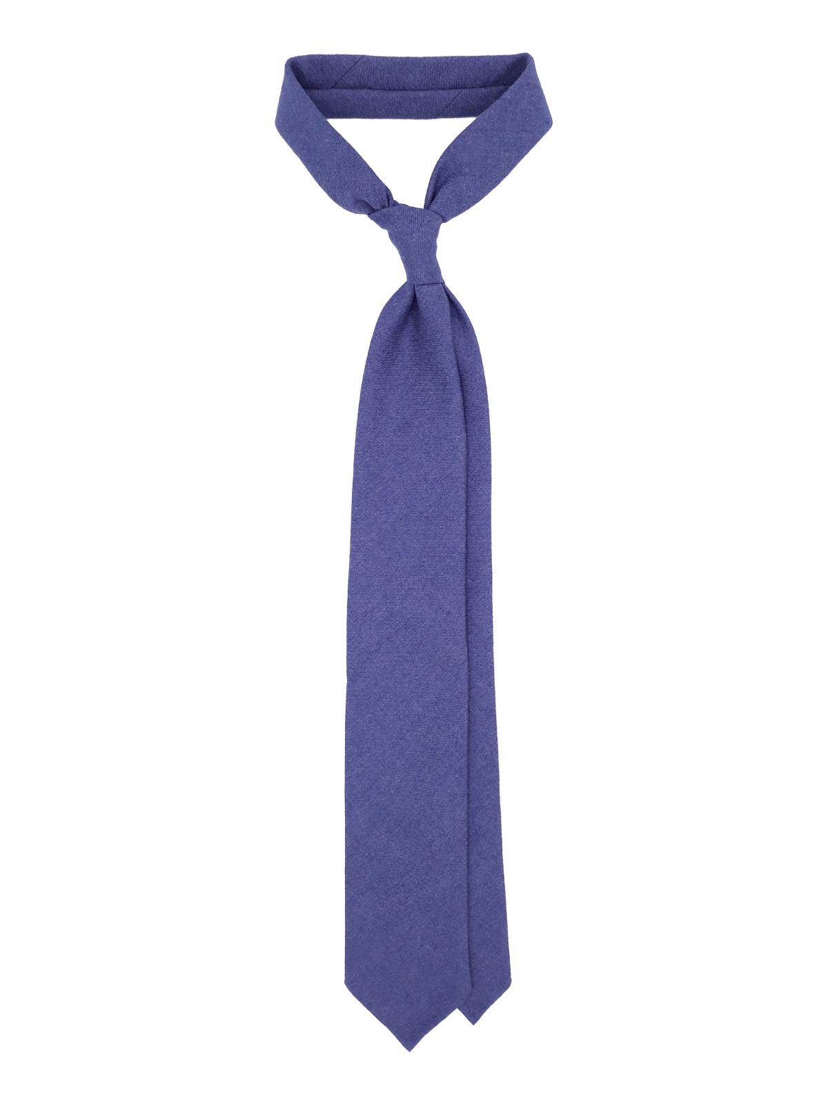 3 fold tie royal blue