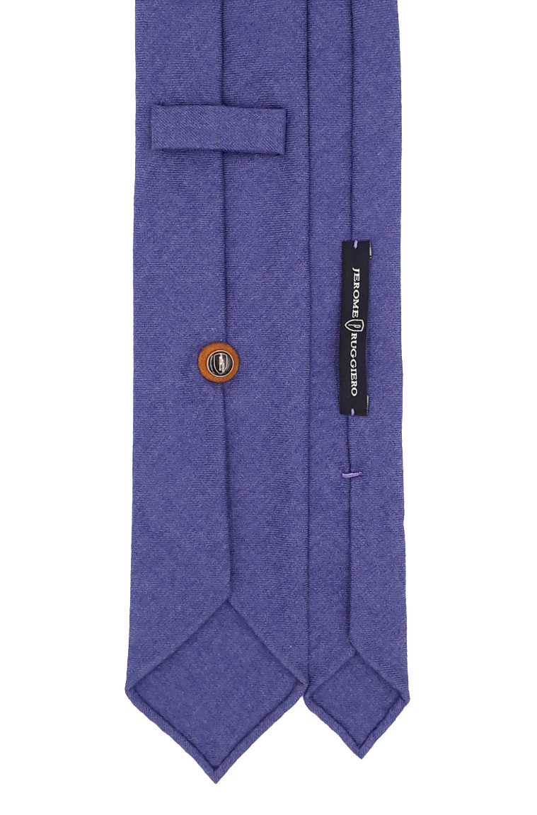 3 fold tie royal blue